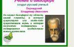 Учение вернадского о биосфере – биология